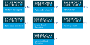 Salesforce Certifications | Mannya Techno Solutions | Salesforce Partner Hyderabad